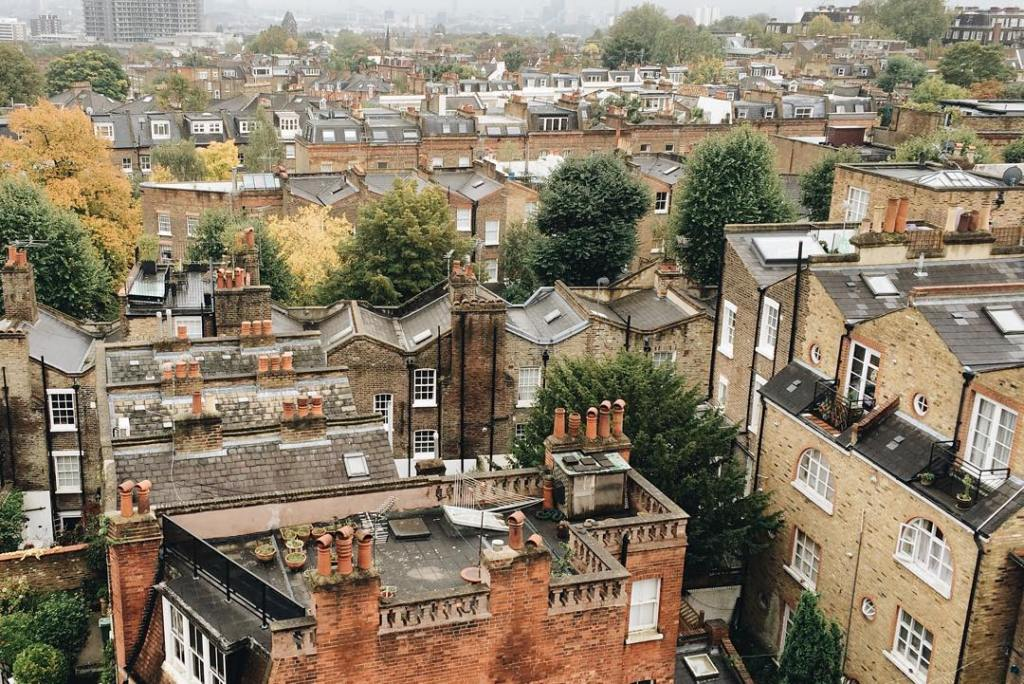 The rooftops of London  Cant help humming Chim Chimhellip