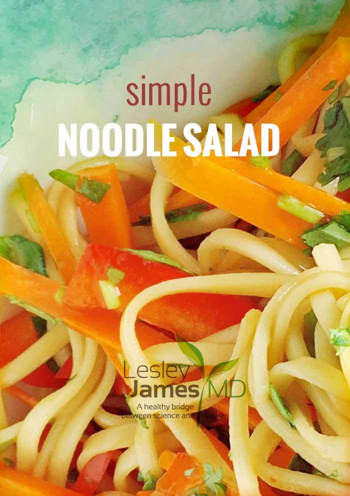 Simple Noodle Salad Recipe