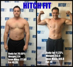 This dad finally made himself a priority & look at the results!