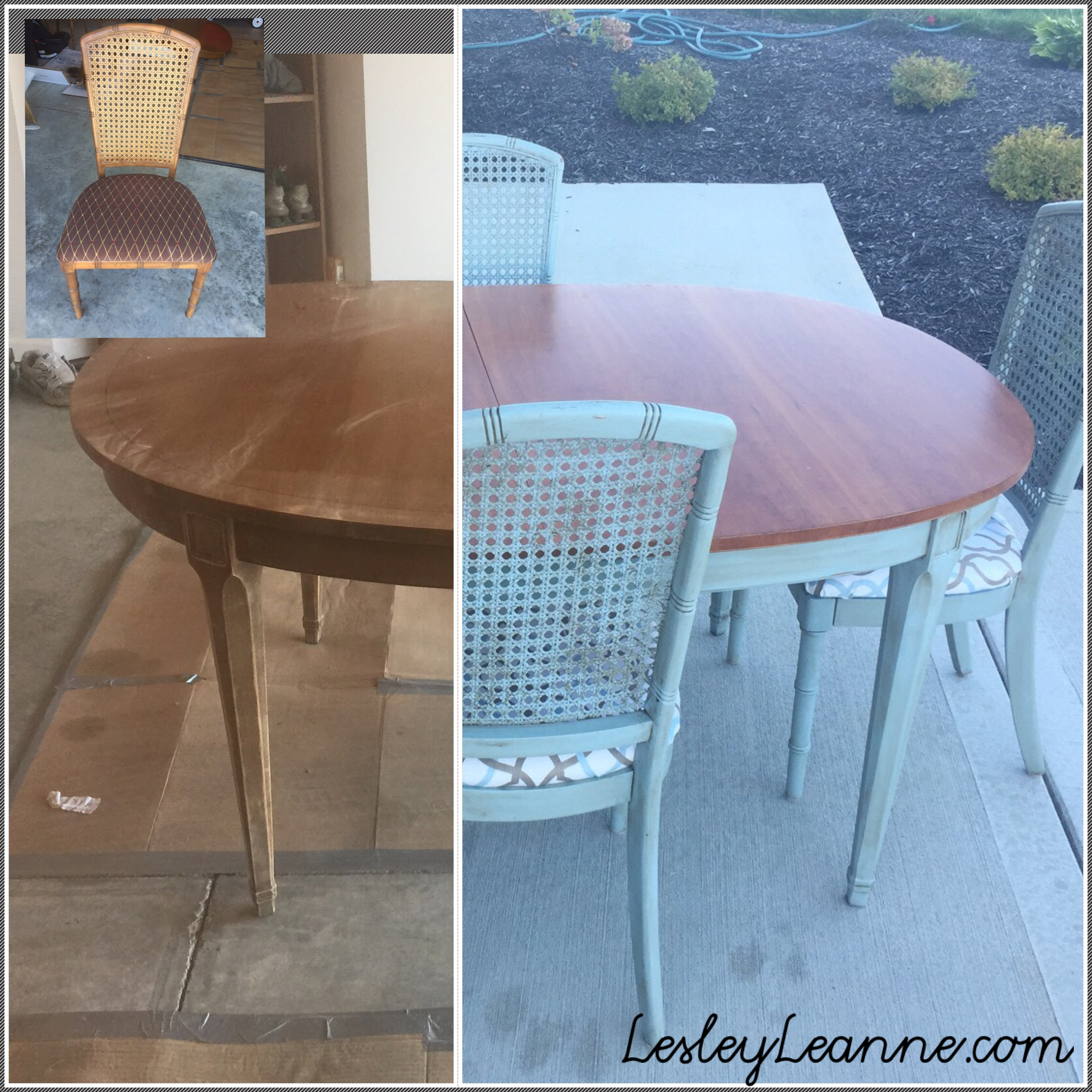 Shabby Chic Kitchen Table: Shabby Chic Inspired Kitchen Table Flip
