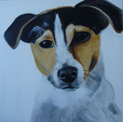 Large Jack Russell 100 x 100