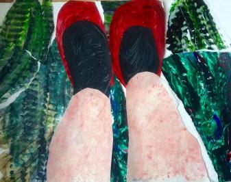 Frida's Shoes 39 x 32