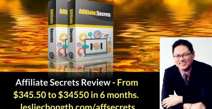 Affiliate Secrets Honest Review Best Bonuses