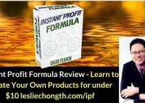 Instant Profit Formula Review - Best Product Creation Course and Bonuses
