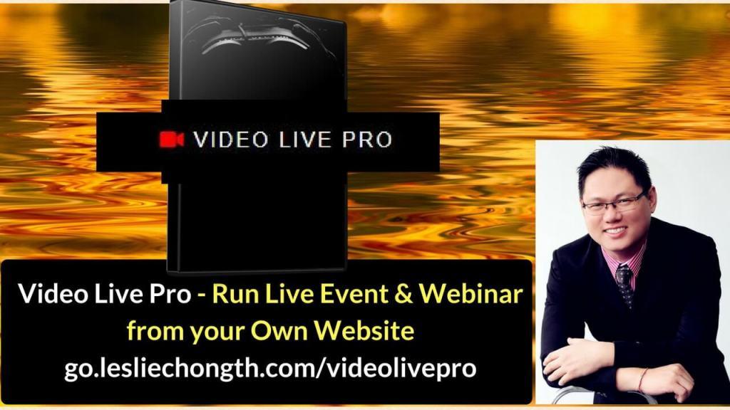 video live pro review bonus cheap webinar software