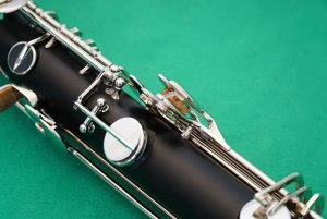 Detail of RCP bass clarinet