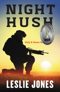 Night Hush Book Cover w/RITA Emblem