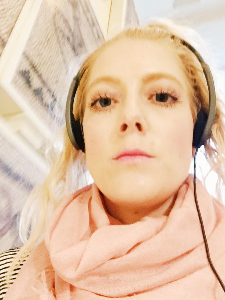 Audio Tour selfie
