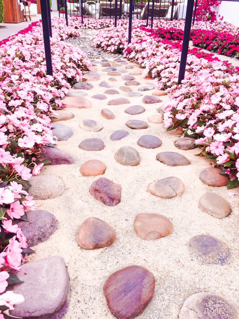 Rocks of Reflexology Path at Omni La Costa spa