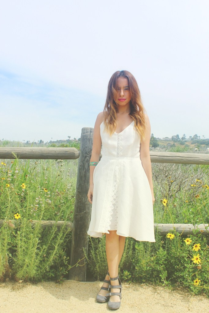 Spring Lookbook: A Little White Dress
