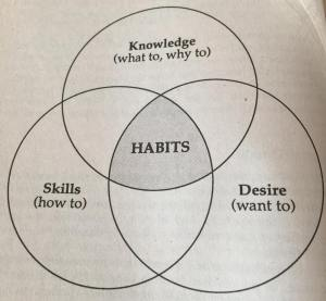 how to create a habit