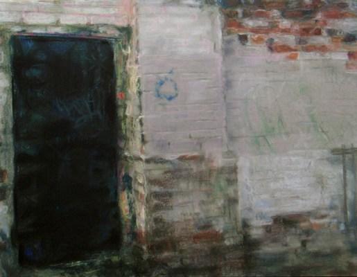 "Wabash #11. Chalk pastel on paper, 18"" X 24"", 2008. SOLD"