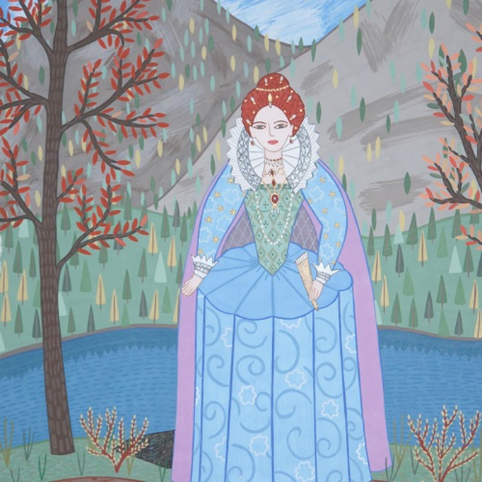 Queen Elizabeth the First at Holland Lake small