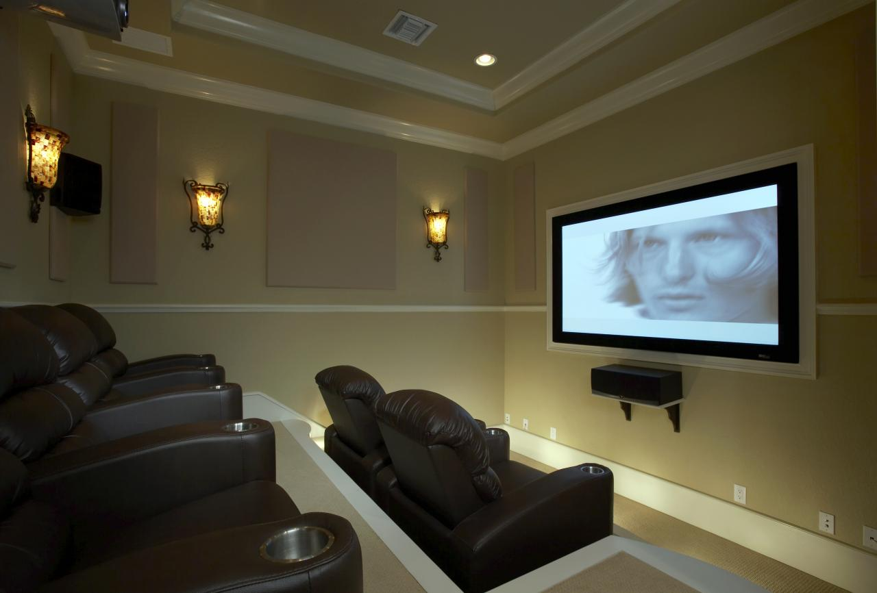 Sony_projector_room42121002_large  LeslievilleGeek TV Installation  Home Theatre  Cabling