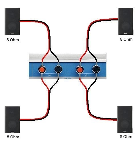 wiring ceiling speaker placement