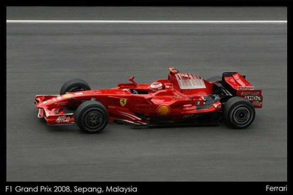 2008 Malaysian Grand Prix Winner Kimi Räikkönen