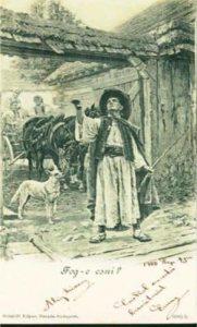 Carte postale fin du 19ème siècle