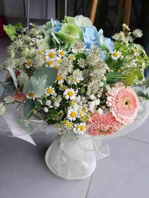 bouquet champetre - - le trefle à quatre fleurs - fleuriste à Gondecourt