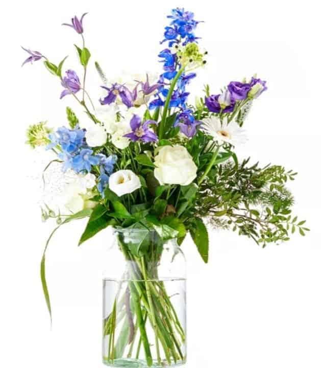 un prince est né - bouquet de fleurs pour naissance - offrir des fleurs