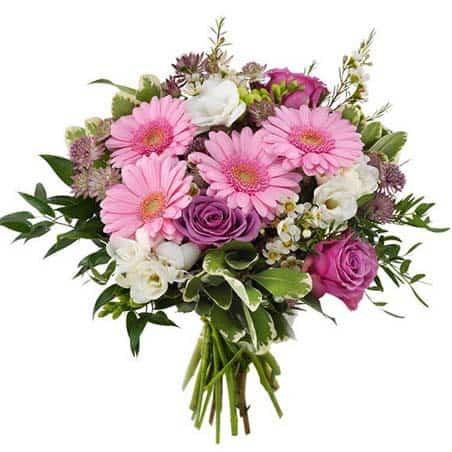 Ecrin de velours bouquet les meilleurs fleuristes
