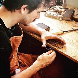 Monture de lunettes de fabrication française