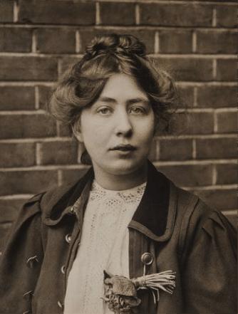 Description : Portrait of Sylvia Pankhurst; 1905 - 1914 by Unknown. Museum ...