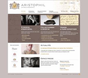 Aristophil, spécialiste des lettres et manuscrits