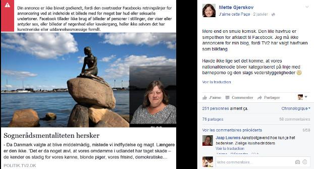 Facebook Petite Sirène