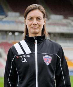 Corinne Diacre. Photo officielle Clermont Foot 63