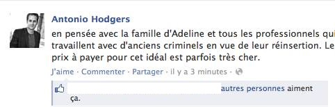 Hodgers facebook