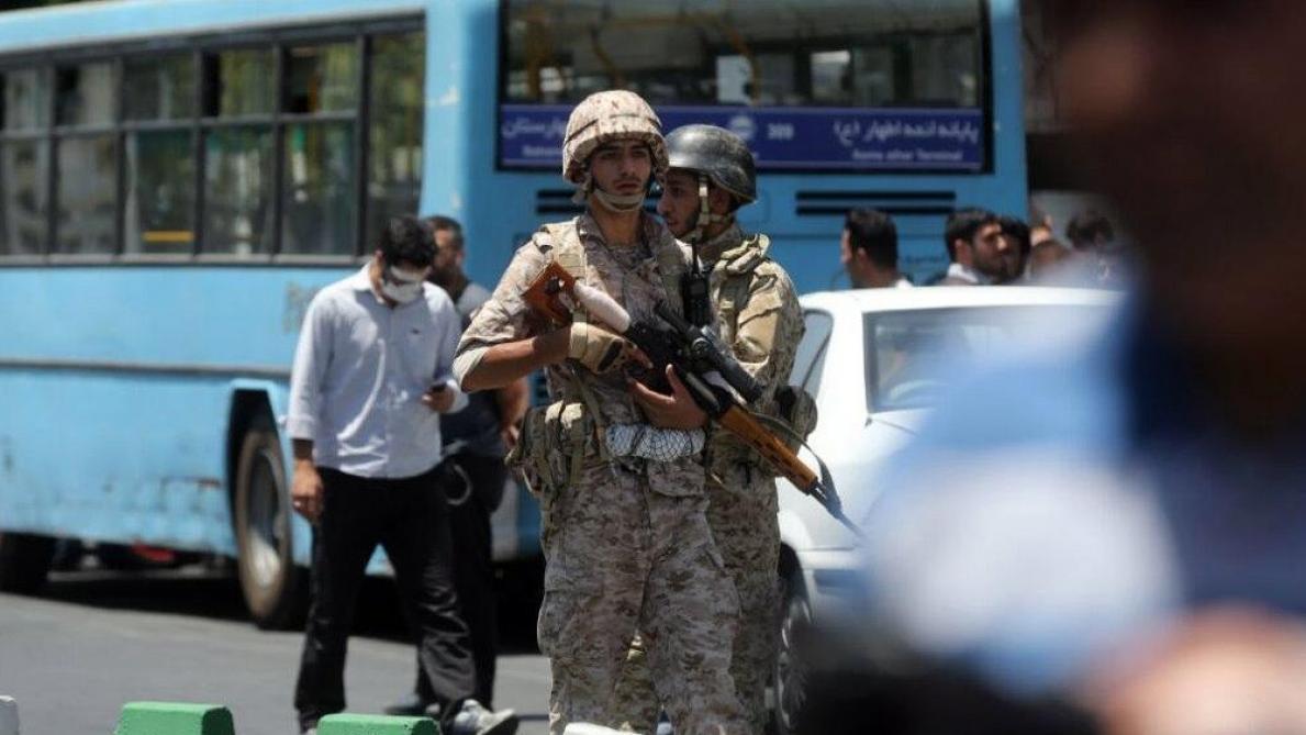 IRAN PARLIAMENT TERROR ATTACK