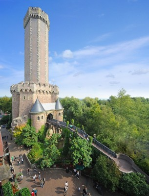 forteresse médiéval phantasialand