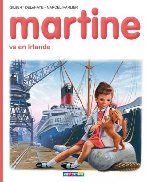 Martine va en Irlande