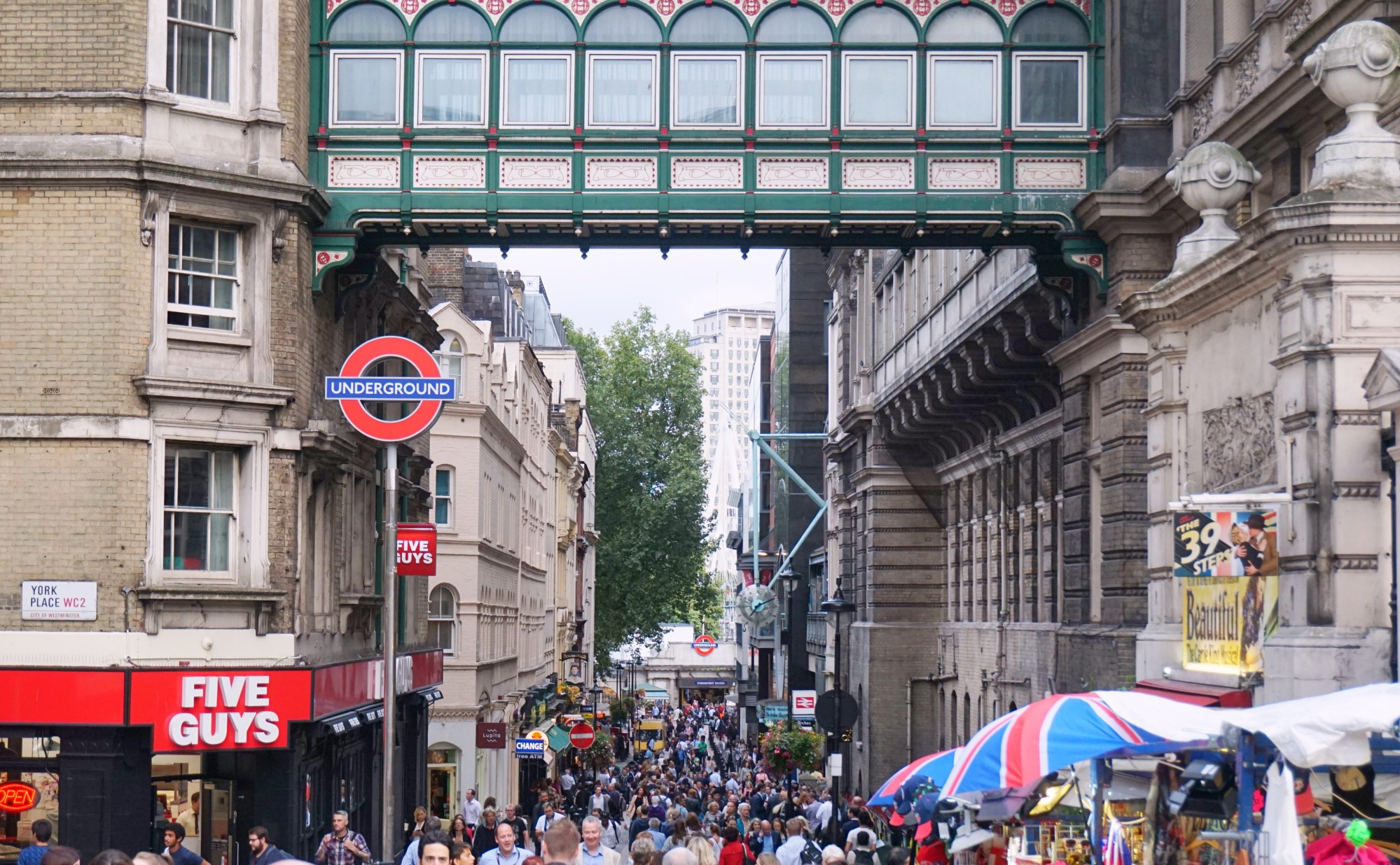 les petites joies de la vie londonienne