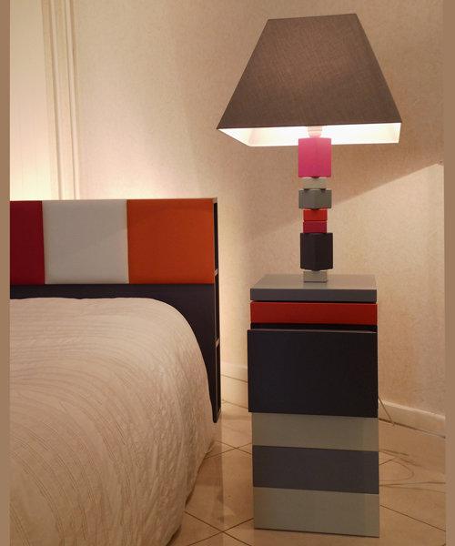 Lampe en couleurs PiedJeu  Mobilier Les Pieds Sur La Table