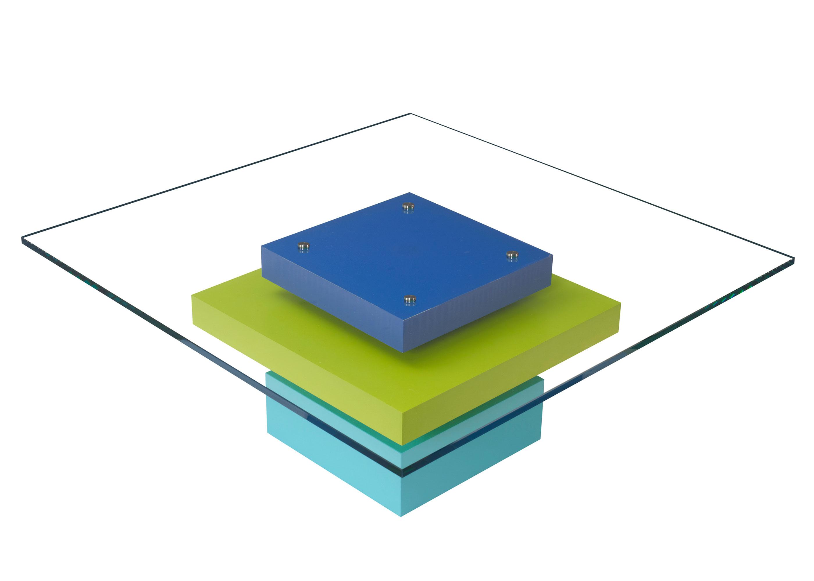 table basse laquee sur mesure