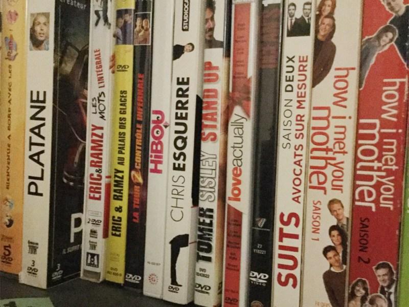 Stand-up et humour : DVDthèque