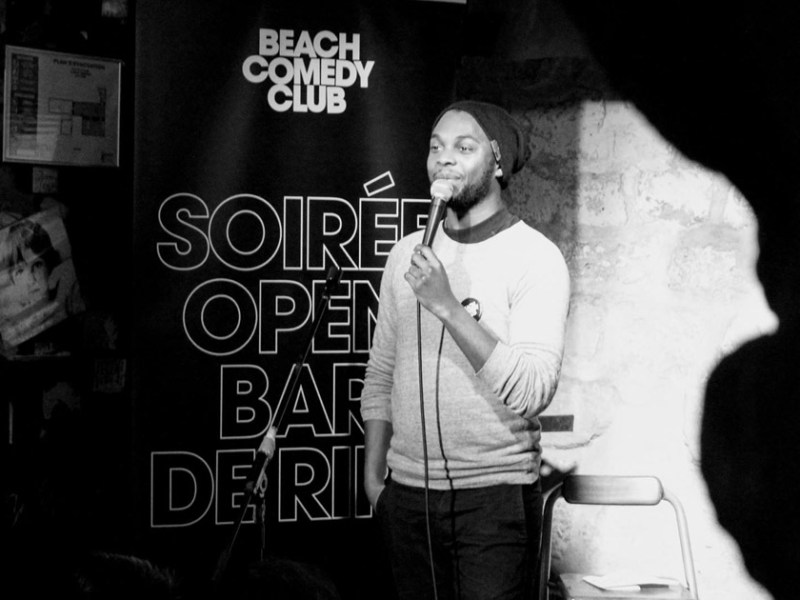 Murphy Ongagna au Beach Comedy Club