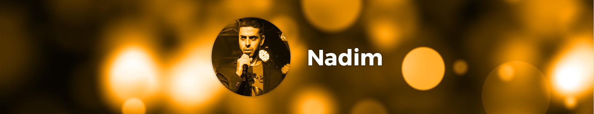 Nadim, artiste Le Spot du Rire