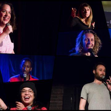 Tester des blagues : quelques humoristes sur scène