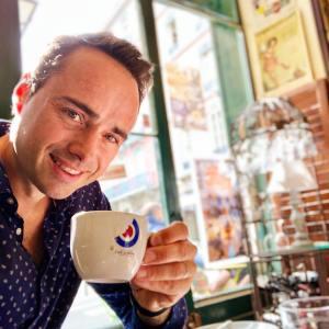 L'humoriste Mickaël Bièche, organisateur du Grenoble Comedy Show