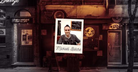 Interview de l'humoriste Mickaël Bièche, organisateur du Grenoble Comedy Show