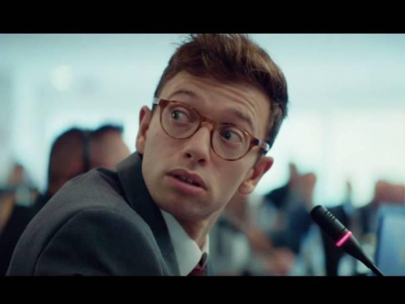 Parlement : portrait de Samy, rôle principal de la série (Xavier Lacaille)