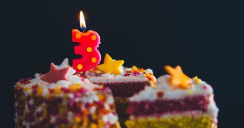 3 ans du spot du rire : gâteau d'anniversaire