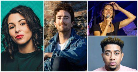 Morgane Cadignan, Cyril Hives, Camille Lorente et Nordine Ganso font partie du top 12 des humoristes de Topito 2021