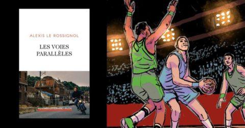 Les voies parallèles : couverture du premier roman d'Alexis Le Rossignol (Plon)