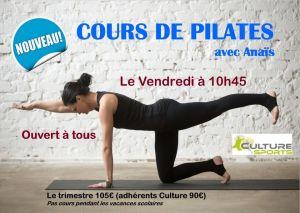 Cours de Pilates à Plescop (56)