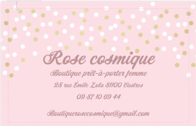 logo Rose Cosmique