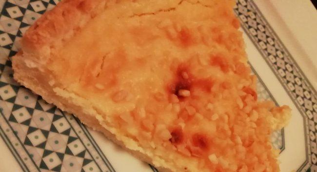 Tarte sablée au citron façon cheesecake