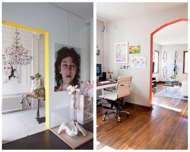 Endroits où ajouter de la couleur dans votre maison
